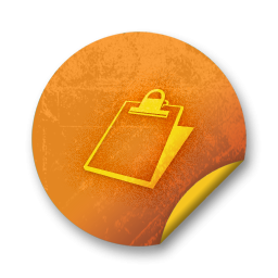 083964-orange-grunge-sticker-icon-business-clipboard2-sc11